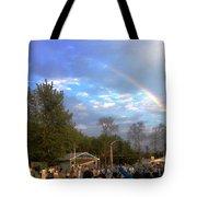 Rainbow At Wind Gap Park Tote Bag
