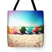 Rainbow Beach Photography Light Leaks1 Tote Bag
