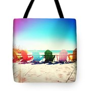 Rainbow Beach Photography Light Leaks2 Tote Bag