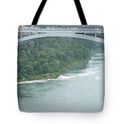Rainbow Bridge Over Niagara Tote Bag