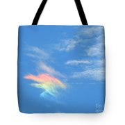 Rainbow Cloud Tote Bag