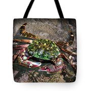 Rainbow Crab Tote Bag