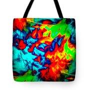 Rainbow Dye Tote Bag