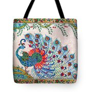 Rainbow Feathers Tote Bag