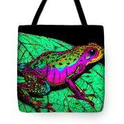 Rainbow Frog 3 Tote Bag