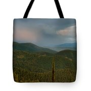 Rainbow From The Lolo Trail Tote Bag