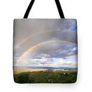 Rainbow In Jerome Tote Bag