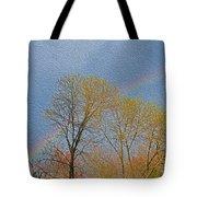Rainbow In Spring Tote Bag