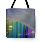 Rainbow Landscape Tote Bag