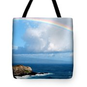 Rainbow Maui Hawaii Tote Bag