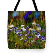 Rainbow Meadow Tote Bag
