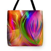 Rainbow Of Thoughts Tote Bag