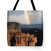 Rainbow Over  Bryce Canyon Tote Bag