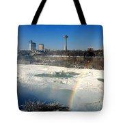 Rainbow Over Canada Tote Bag