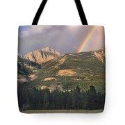 Rainbow Over Colin Range Jasper Np Tote Bag