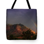 Rainbow Over Sedona  Tote Bag