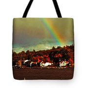 Rainbow Over Winnipesaukee Two Tote Bag