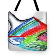 Rainbow Paintbrush Tote Bag