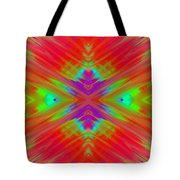 Rainbow Passion Abstract 1 Tote Bag