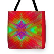Rainbow Passion Abstract 2 Tote Bag