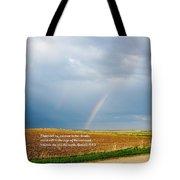 Rainbow Promise Tote Bag