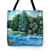 Rainbow River At Rainbow Springs Florida Tote Bag