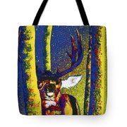 Rainbow Rut Tote Bag