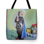 Rainbow Sherbet Little Ninja Boy Tote Bag
