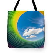 Rainbow Sky 2 Tote Bag