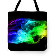 Rainbow Smoke Tote Bag