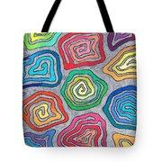 Rainbow Snails Tote Bag