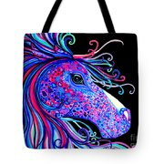Rainbow Spotted Horse2 Tote Bag