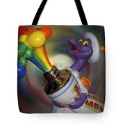 Rainbow Squirt Tote Bag