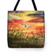 On Wind Of A Rainbow  Tote Bag
