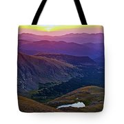 Rainbow Sunrise Tote Bag