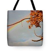 Rainbow Through Tree Tote Bag