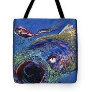 Rainbow Trout Detail B Tote Bag