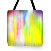 Rainbow Unleashed Tote Bag