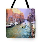 Rainbow Venice Tote Bag