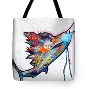 Rainbow Warrior - Sailfish Tote Bag