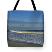 Rainbow Wave Seaside New Jersey Tote Bag