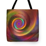Rainbow Whispers Tote Bag