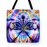 Rainbows And Dragonflies Tote Bag