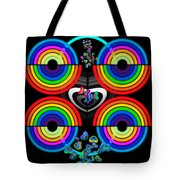 Rainbows End Tote Bag