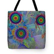 Rainbows In Flowers  Tote Bag