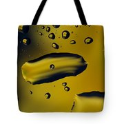 Raindrops And Flowers 16 Tote Bag