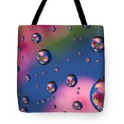 Raindrops And Flowers 7 Tote Bag