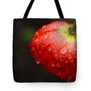Raindrops And Poppy Tote Bag