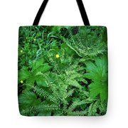 Raindrops On Buttercups Ranunculus Tote Bag
