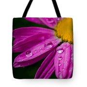 Raindrops On Daisies Tote Bag